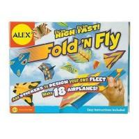 ALEX Avions a plier et a décorer - A partir de 4 ans