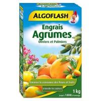 ALGOFLASH Engrais Agrumes, Olivers et Palmiers - 1kg