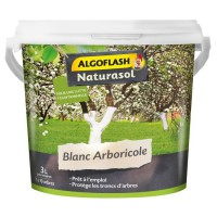 ALGOFLASH NATURASOL Blanc Arboricole - Seau 3 L