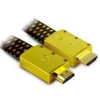 Aliencable ExtremeSeries (2 m) - Câble HDMI 2.0 a hautes performance compatible 3D, Full HD (1080p) et UltraHD 4K (2160p) (ref :