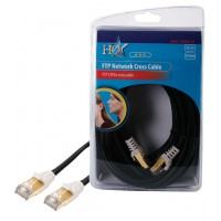 CABLE FTP CAT 5E CROISE HQ - 10m