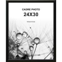 ALTANA Cadre photo 24x30 cm Noir mat