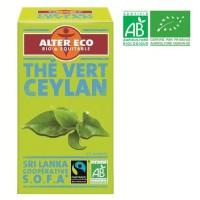 ALTER ECO Thé Vert Ceylan Bio 40g