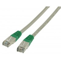 CABLE FTP CAT6 CROISE LSZH - 0.5m