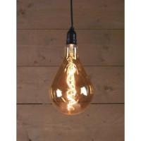 Ampoule LED d'extérieur BOT Retro - Ø16 x 23 cm - 4 piles AA