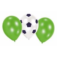 "AMSCAN Lot de 6 Ballons latex Kicker Party 22,8 cm 9"""