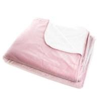 ANDORA Plaid Jessie - 180x220 cm - Rose - 100% polyester
