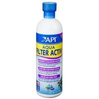 API Aqua Filter Activ 473ml pour maintenir eau propre - Pour aquarium