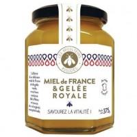APICULTEURS ASSOCIES Miel de France et Gelée Royale - 375 g