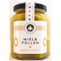 APICULTEURS ASSOCIES Miel et pollen - 375 g