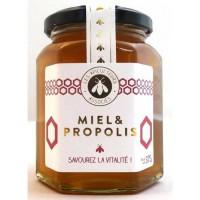 APICULTEURS ASSOCIES Miel et Propolis - 375 g