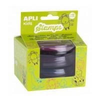 APLI Boite de 3 Sets d'Encres Vert, Orange, Marron + 18 Mois