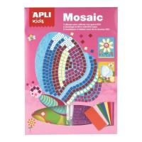 APLI Kit mosaique en mousse Printemps