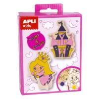 APLI Mini Kit peinture Princesse