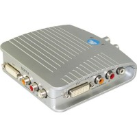 APM 404013 Boitier DVI Audio / Coaxial 75 Ohms - 2 Entrees / 1 Sortie Switchable