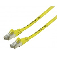 Valueline FTP CAT 6 network cable 0.25 m yellow