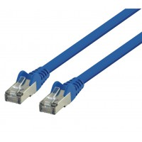Valueline FTP CAT6 flat network cable 0.25 m blue