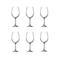ARCOROC CARBENET Lot de 6 verres a vin 35 cl transparent