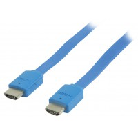 Valueline flat high speed HDMI® cable with ethernet 2.00 m