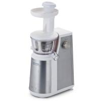 ARIETE 177 Centrika Extracteur de jus en inox - 400 W - Double cuve - Acier inoxydable