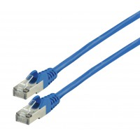 Valueline CAT 7 PiMF network cable 1.00 m blue