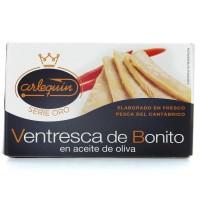 ARLEQUIN Ventre de thon a l'huile d'olive - 120 g