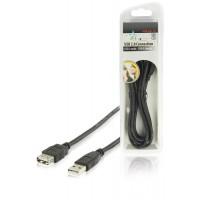 HQ câble USB 2.0 USB A mâle - USB A femelle 1.80 m