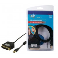 CABLE CONVERTISSEUR IMPRIMANTE USB HQ - 1.8M