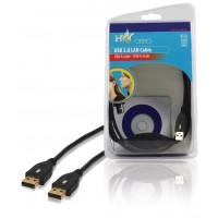 CABLE LAN USB 2.0 HAUT DEBIT HQ - 2m