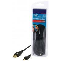 CABLE DE CONNEXION USB2.0 HAUTE VITESSE HQ - 3m