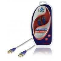 CABLE D'EXTENSION USB 2.0 STANDARD - 1.8m
