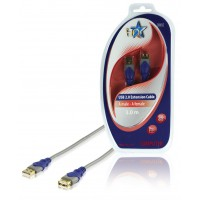 HQ standard USB 2.0 extension cable 3.00 m