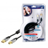 CABLE USB 2.0 HAUTE QUALITE - 5m