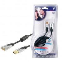 CABLE USB 2.0 HAUTE QUALITE - 2.5m