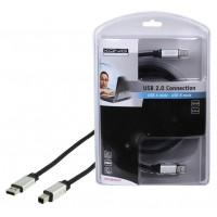 CABLE DE CONNEXION USB 2.0 KÖNIG - 1.8m