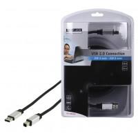 CABLE DE CONNEXION USB 2.0 - 5m