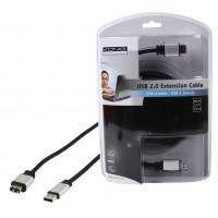 CABLE D'EXTENSION USB 2.0 - 1.8m