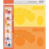 ARTEMIO 6 Supports Cupcakes Papier a Monter Fun