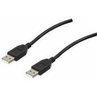 Valueline High Speed USB cable A-A black 3.00 m