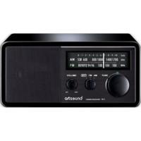 ARTSOUND R11B Radio rétro - Noir - AM & FM analogique