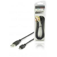 HQ câble USB 2.0 USB A mâle - micro USB B mâle 1.80 m