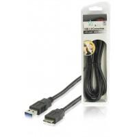 HQ câble USB 3.0 USB A mâle - micro USB B mâle 1.80 m