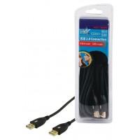 CABLE DE CONNEXION USB2.0 HAUTE VITESSE HQ - 5m