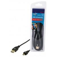 CABLE DE CONNEXION USB2.0 HAUTE VITESSE HQ - 1.8m