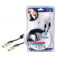 CABLE USB 2.0 HAUTE QUALITE - 1.8m