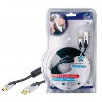 CABLE USB 2.0 HAUTE QUALITE - 5m