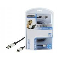 CABLE USB 2.0 - MICRO USB A KÖNIG - 1.8m