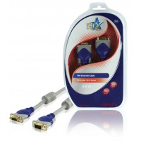 HQ standard VGA extension cable 5.00 m