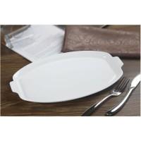 Assiette ovale - 34 x 20,5 cm