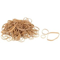 Assortiment de bracelets élastiques - 30 / 50 / 75 mm - 60 g